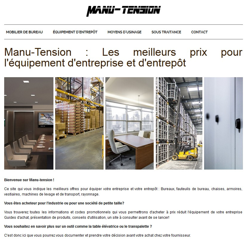 Détails : manu-tension