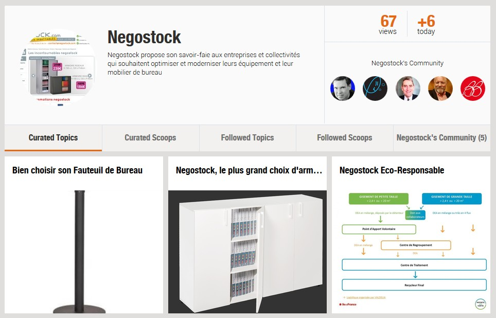 Détails : Negostock / Scoop.it